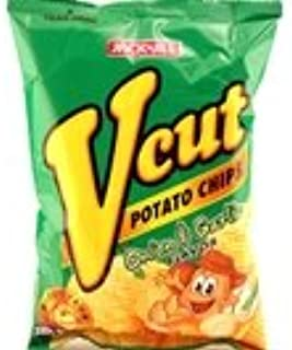 V-Cut Potato Chips (Onion & Garlic) - 2.12oz [Pack of 3]