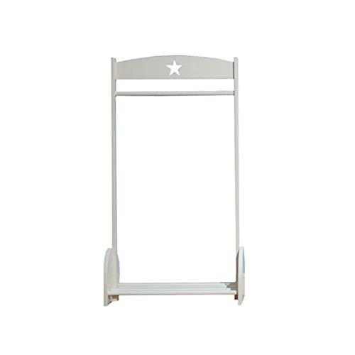 Kapstokken Kapstok, Children's Room Floor Hanger, massief houten Simple Hanger, Children's Display Stand, 67X32X120cm LQH