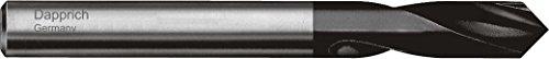 Hi-Tech NC Anbohrer HSS-E Co5 TiALN, 90° Werksnorm rechtsschneidend: Ø 6,0mm x Gesamtlänge 66mm x Arbeitslänge 16 mm