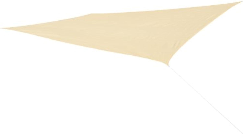 Corasol COR10RE6X4-SB Premium Sonnensegel 6 x 4 m, rechteckig, sandbeige