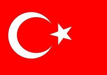 Top qualité-turquie turkiye drapeau turquie drapeau 90 x 150 cm, très résistant, pas de cadre-cHINAWARE-grammage : 100 g/m², résistant et prise en main-œillets en laiton cousu plusieurs circulaire idéal comme münchen sV pour l'intérieur/l'extérieur pour la maison, la décoration pour le jardin