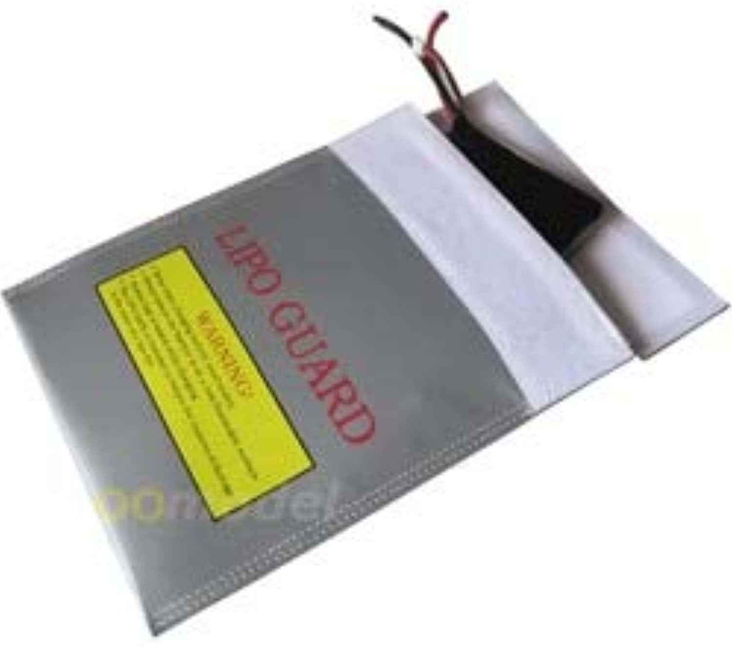 Generic 3pcs Fireproof Lipo Battery Safety Guard Charge Bag 220X180mm Free Track Shipping