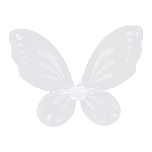 SM SunniMix Vestido de ala de Hada, ala de ngel, Accesorios de Disfraz de Princesa, Disfraz de ala de Mariposa para Fiesta, Juego de Disfraces, Festival,