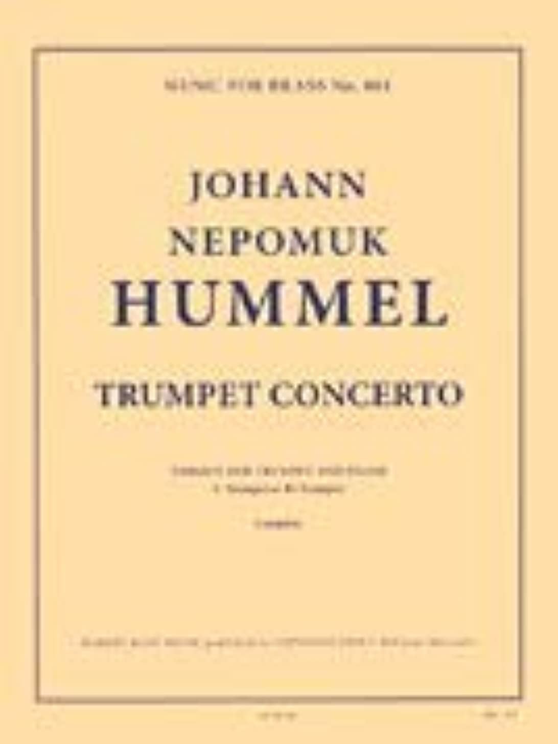 Trumpet Concerto in E-Flat: Music for Brass No. 801 Version for Trumpet and Piano