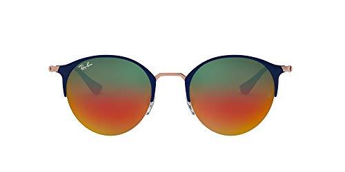 Ray-Ban Sonnenbrille RB3578 Rund Sonnenbrille 50, Blau