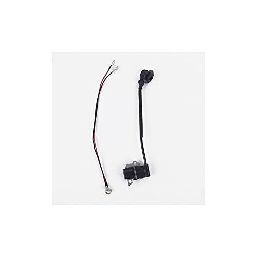 YANYAN MAYALI Kits de Alambre de la Bobina de Encendido se ajustaron a Fit para Makita DCS460 DCS500 DCS5121 Parte de la Motosierra