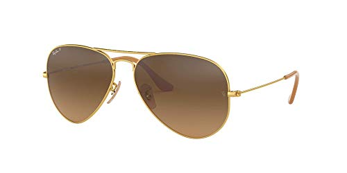Ray-Ban RB3025 Aviator Large Metal Unisex Sunglasses