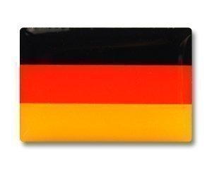 Yantec Flaggenpin Deutschland Pin rechteckig