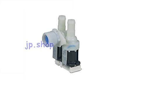 Whirlpool - Electroválvula de lavadora con carga de agua, 2 vías, 90°, 481227128558