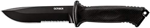 Gerber Prodigy Survival Knife, Serrated Edge, Black [22-41121]