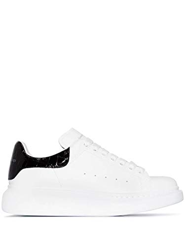 Alexander McQueen Luxury Fashion Damen 553770WHXMY9061 Weiss Leder Sneakers | Herbst Winter 20