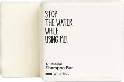 STOP THE WATER WHILE USING ME! All Natural Shampoo Bar (75g), festes Shampoo ohne Zusätze, geeignet für alle Haartypen, klimaneutrale Naturkosmetik aus Deutschland, per Hand gefertigt