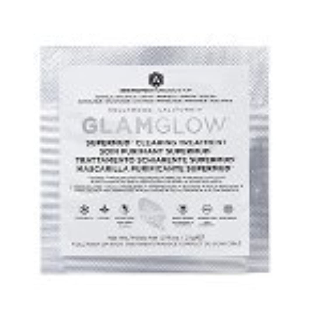 バイソンブレース新着【サンプルサイズ】グラムグロウ (GLAMGLOW) スーパーマッド クリアリング トリートメント2.1g (1回分) [並行輸入品]