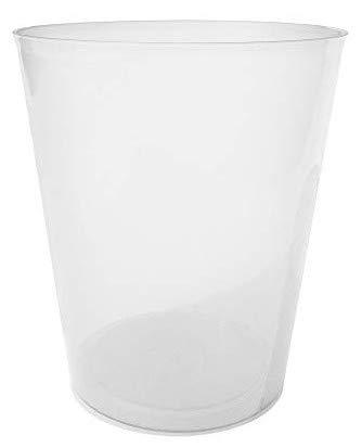 TELEVASO - 500 uds - Vaso Sidra 480 ml Reutilizable Ligero - Polipropileno (PP) - Color traslúcido - Vaso ecológico Libre de BPA,