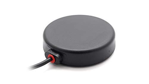 Alda PQ Antena con soporte magnético para ISM, WiFi, Bluetooth, ZigBee, con conector SMA/M y cable RG174 de 3 m, ganancia de 2,3 dBi.