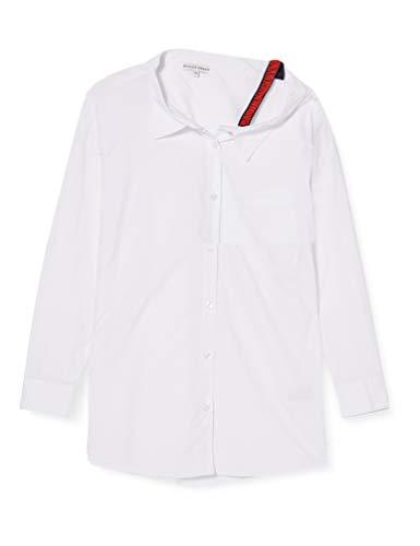 Silvian Heach Shirt Lamis Camisa, Blanco (White White), Medium para Mujer