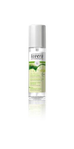 Lavera, Déo Spray Fraîcheur Verveine Bio et Citron Vert Bio, 75 ml