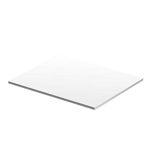 Zeichenblock I DIN A3 I 50 Blatt 90g/m² Offset zum abreißen I für langanhaltenden Zeichenspaß I Papier-Block Blanko zum beschreiben und bemalen I dv_858