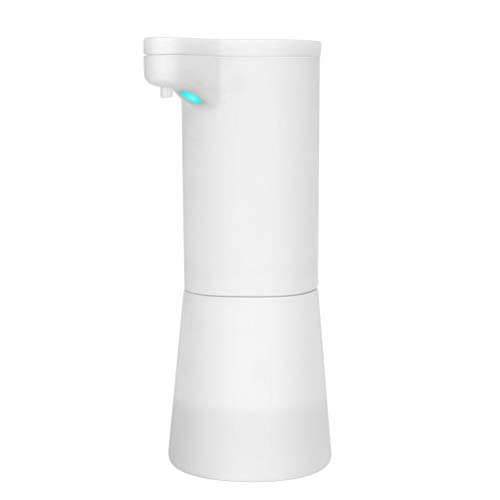 Exceart Automatische Vloeistof Sproeier Dispenser Handenvrije Douche Vloeibare Shampoo Zeep Dispenser Voor Thuis Badkamer Keuken 400Ml