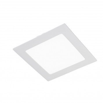 Downlight LED Wonderlamp extraplano Cuadrado blanco W-E000047 18W 6000K (Luz fría)