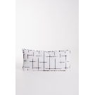"HOME: 26""L x 12""H Cotton Pillow in Grey – Piper & Scoot"