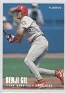 Benji Gil (Baseball Card) 1996 Fleer - [Base] - Tiffany #249