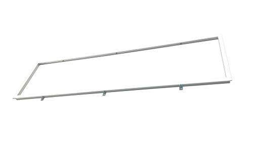 Einbaurahmen weiss für LED Panel zum Deckeneinbau in GK Decken (120 x 30 cm)