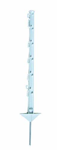 Poteaux de clôture en plastique Blanc – 10 Lot de 75 cm