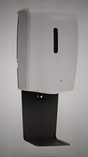 Dispensador automático de jabón desinfectante líquido sin contacto a granel de 1 L, soporte de pared, de pie, soporte para dispensador de desinfectante