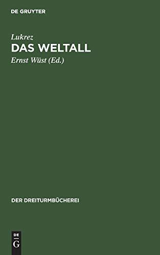 Das Weltall (Der Dreiturmbücherei, 31/32, Band 31)