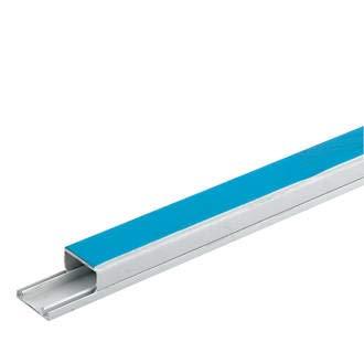 Innovo Kabelkanal aus PVC, selbstklebend, 40 mm x 16 mm, Weiß, 1,5 m