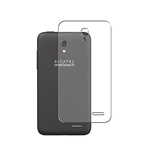 Vaxson 2 Stück Rückseite Schutzfolie, kompatibel mit Alcatel Alcatel One Touch Pop Star LTE A845L, Backcover Skin TPU Folie [nicht Panzerglas/nicht Front Bildschirmschutzfolie]