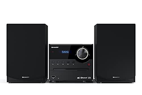 SHARP XL-B517D(BK) Micro Hi-Fi Sound System Stereo with DAB Radio, DAB+,...