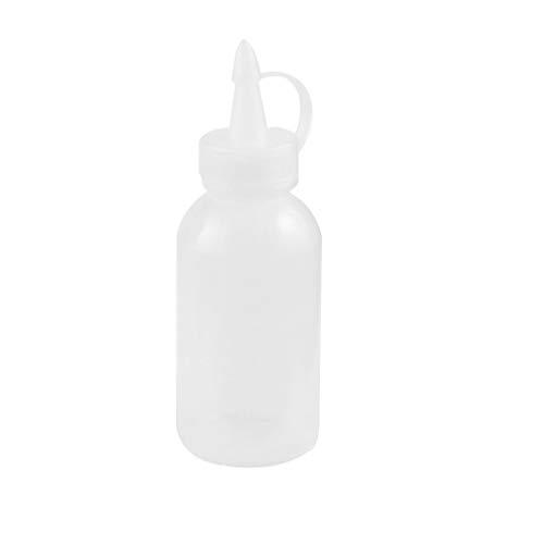 Laileya Ensalada de Aterrizaje Salsa de la Botella de Aceite de almaceniento de Botellas de plástico de 100 ml de condimentos para la Cocina dispensador
