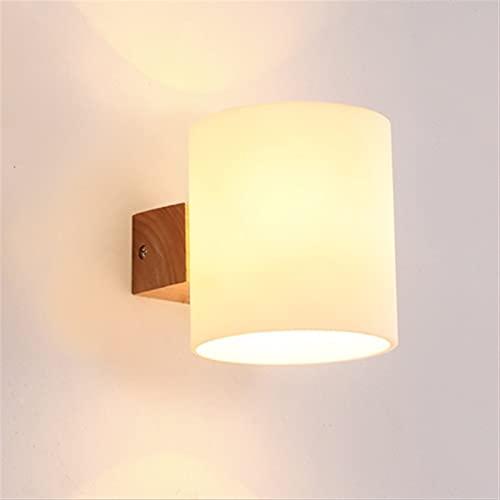 Nordic Minimalista Wall Light Light Bedroom Lampada da comodino Lampada da pranzo Sala da pranzo Appliques Luci montate Lampada da lettura a parete Perfetto per il corridoio Magazzino Sala da pranzo A