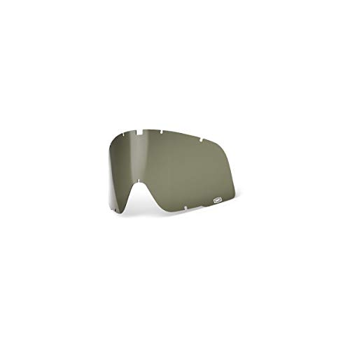 100% Speedlab (51000-005-12) Barstow Replacement Dalloz Curved Lens-Olive Green, Free Size