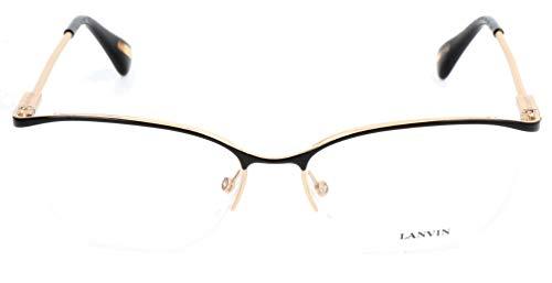 Lavin Lanvin Brillengestelle VLN077S 55 16 140 Cateye Brillengestelle 55, Gold
