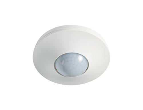 Esy-lux Bewegungsmelder MD-C360i/8,360 Grad, 8 m, IP20, weiß 4015120055393