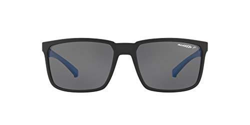 Arnette 0AN4251 Gafas de sol, Matte Black, 58 (Pack de 5) para Hombre