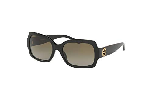 Tory Burch 0TY7135 170913 Women Sunglasses Solid/Black - Smoke Gradient Lenses 55MM