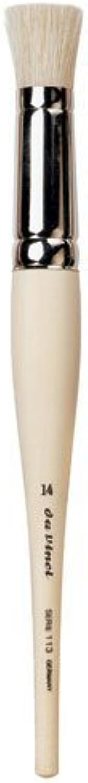 Da Vinci Graphic Design Series 111 Stencil Brush, Size 14