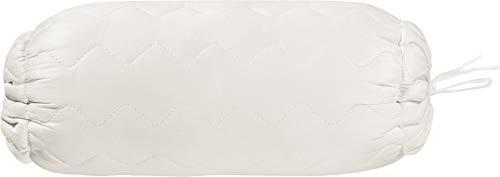 Irisette Nackenrolle Naturhaar/Faser weiß Größe 40x15 cm Ø