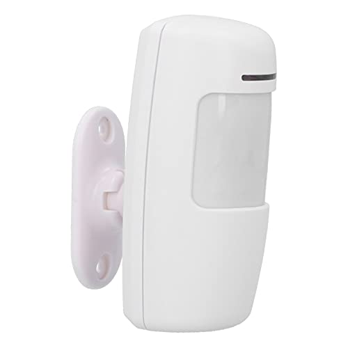 433MHz Infrared Detector Intelligent Infrared Sensor Wireless Wide Angle Alerter Motion Sensor Smart Infrared Sensor Home Security System for Household