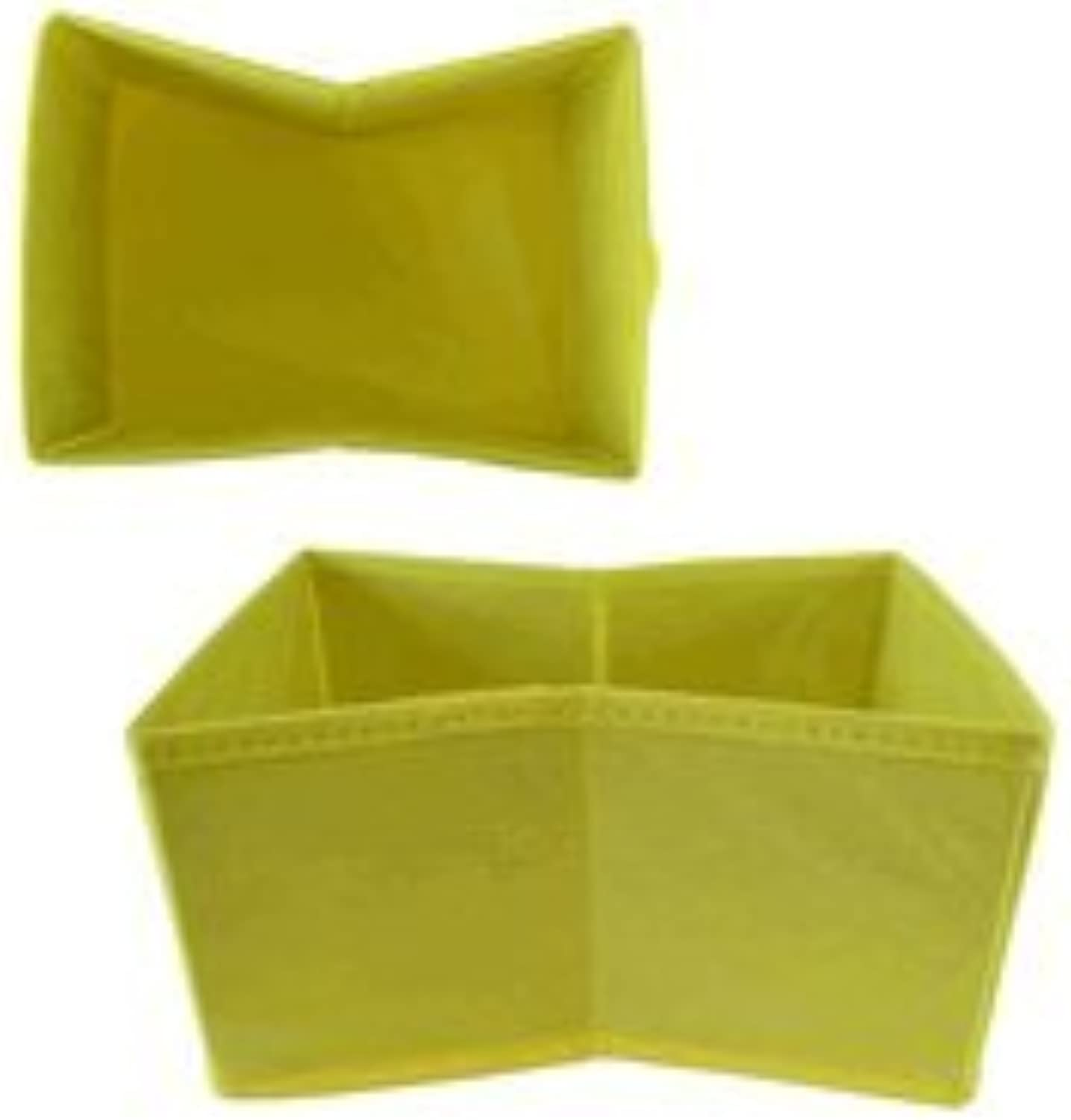 Storage Box Yellow - Fold Away Storage Box