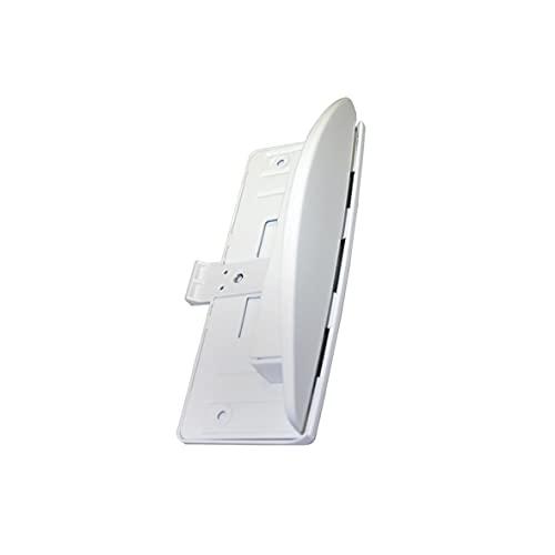 Liebherr 7042614 ORIGINAL Türgriff Handgriff Griff weiß komplett mit Abdeckplatte für Kühlschrank Gefrierschrank auch Neckermann Quelle