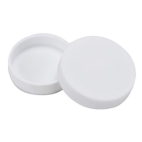 Placas De Petri F4, Ptfe Puro Con Tapas Para Laboratorio Experimento Del Proyecto De QuíMica Placa CientíFica Cultivo De Tejido De CéLulas De Levadura Bacteriana,70mm