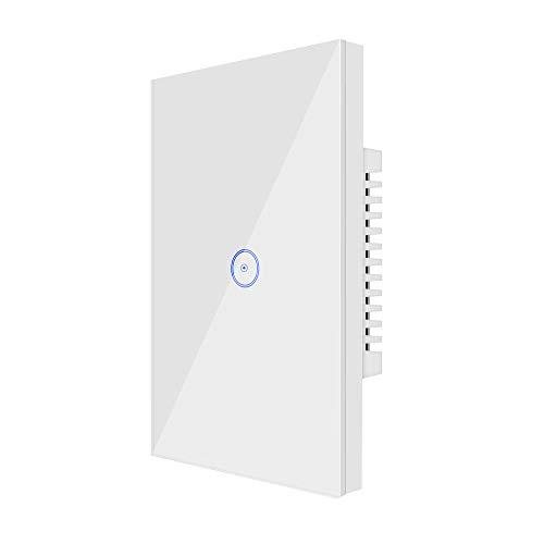 Wi-Fi Smart Light Switch 1 Gang Jinvoo US Panel Switch, Smart Phone...