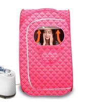 Tragbare Sauna Box Dampfbox Heimsauna Bad Spa Ganzkörpersauna Zelt Ultradünne Gewichtsverlust Entgiftungstherapie