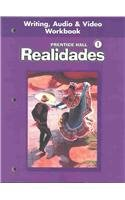 Realidades, Level 1: Writing, Audio and Video Workbook(only book)