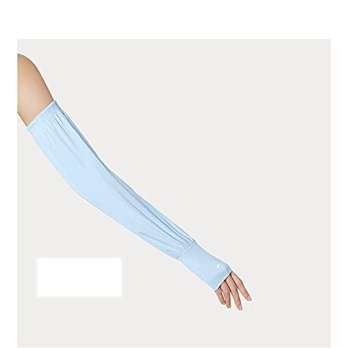 Guoz Radsport Ärmlinge Anti UV Schutz Arm Schutz Ärmel UV Sonnenschutz Ärmel mit Daumenloch Frau Armschutz Geeignet für Outdoor-Reitsportarten,Alle Mädchen Geeignet
